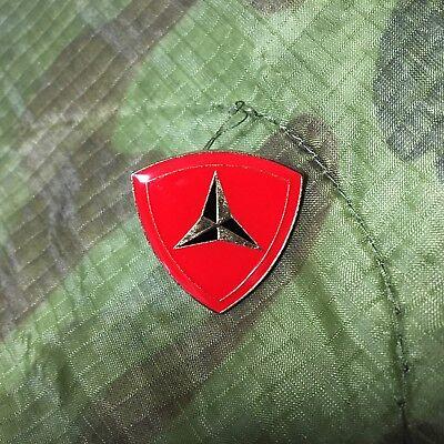 USMC 3RD MARINE DIVISION HAT/LAPEL PIN