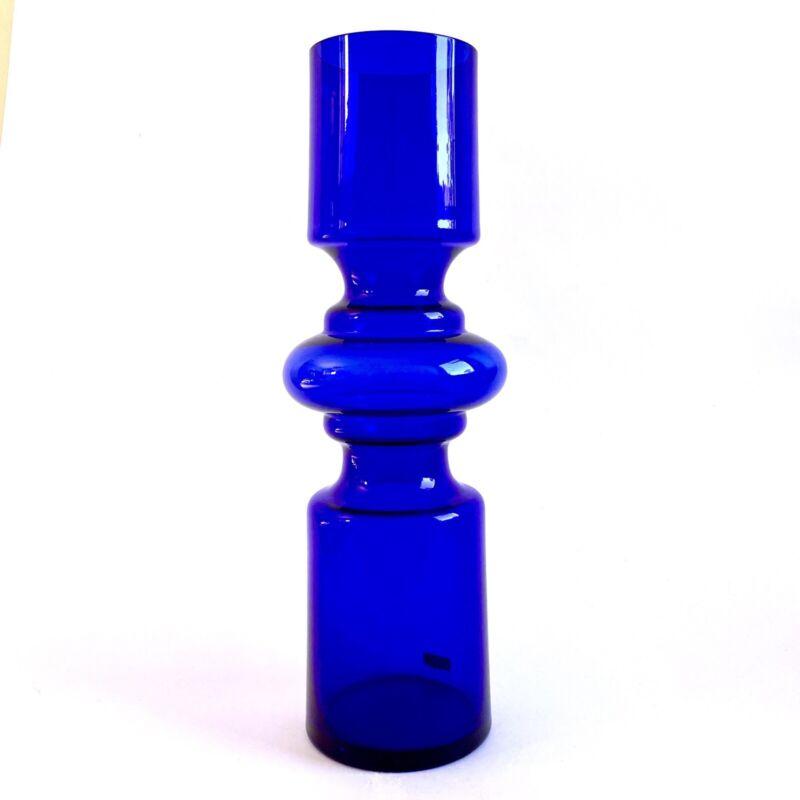 Alsterbro Sweden Hooped Glass Vase Atomic Scandinavian Lindshammar Gunnar Ander