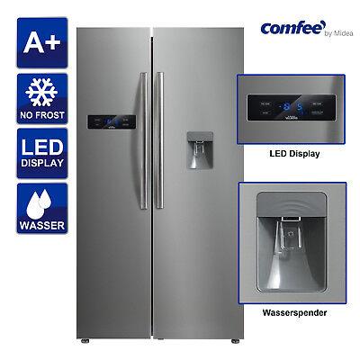SidebySide Kühlschrank A+ Comfee SBST 513 NFA+ Wasserspender mit Tank ()