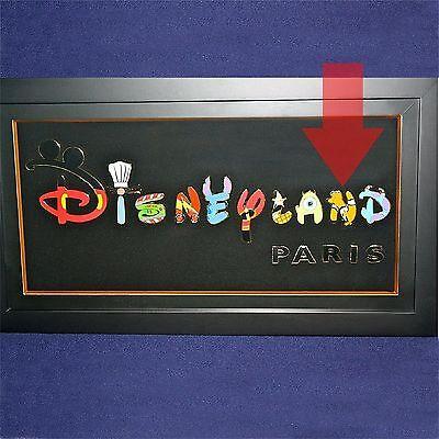 LE Finding Nemo New Generation Letter N Disneyland Paris Disney Pin Frame Icon