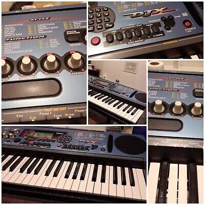 Yamaha djx keyboard classic 90s club music maker and synth