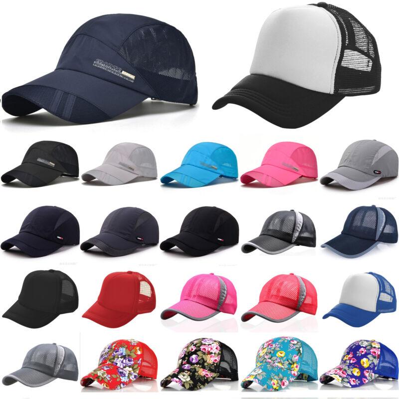 Damen Herren Caps Basecap Mütze Kappe Hut Mesh Sport Golf Sonnenhut Schirmmützen
