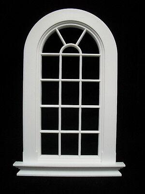 Window: GEORGIAN 6 PANE ROUND TOP WINDOW  Jacksons Miniatures 1/12 scale B21