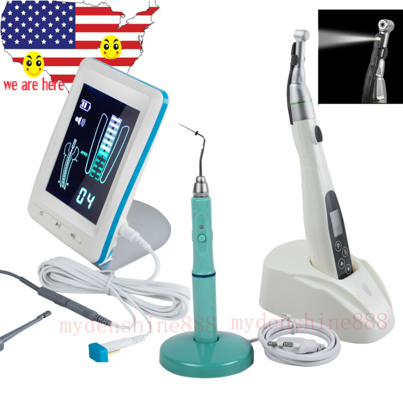 Dental Obturation System Endo Heated Pen + Endo Motor + Apex Locator