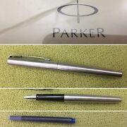 Parker Pen Jotter Fountain Pen SS CT Carseldine Brisbane North East Preview