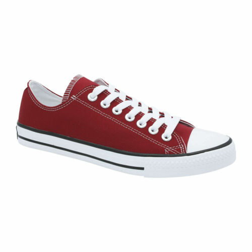 AfterGen Mens Classic Lace Up Canvas Shoes Athletic Sneakers Casual Fashion Size