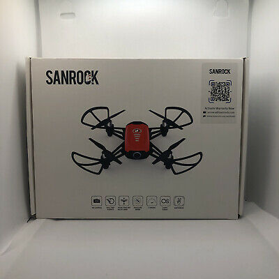 SANROCK H818 Mini Drones for Kids, RC Quadcopter with 720P Actual-time Camera