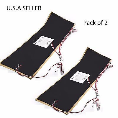 """Facon 2pcs 7.25""""x25"""" RV Water Holding Tank Automatic Thermostat Heater Pad 12V"""