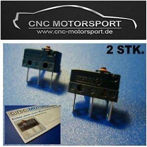 2 x Mikroschalter ZV Türschloss Audi A3 A4 A5 Golf 4 Mikrotaster Microschalter
