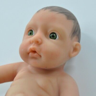 IVITA Cute Lovely Reborn Baby Girl Little Baby Doll FULL BODY SILICONE 850g