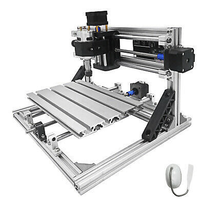 Cnc 2418 3 Axis Diy Desktop Pcb Wood Engraving Milling Laser Machine Us Stock