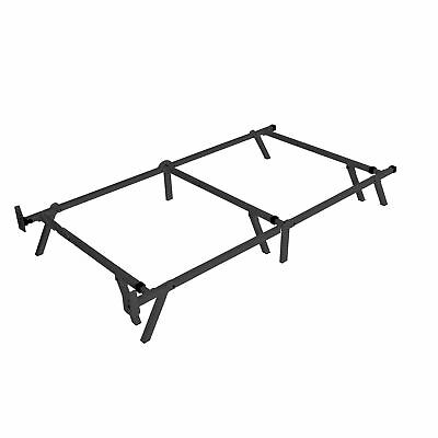 intelliBASE Low Profile Adjustable Twin Full Queen Box Spring Metal Bed Frame 9