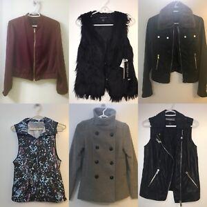 Ladies Vests and Jackets - Closet Cleanout / moving Sale