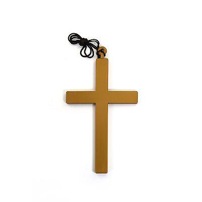 Kreuz mit Kordel - Priester Bischof Nonne Kostüm - Karneval - Priester Nonne Kostüm
