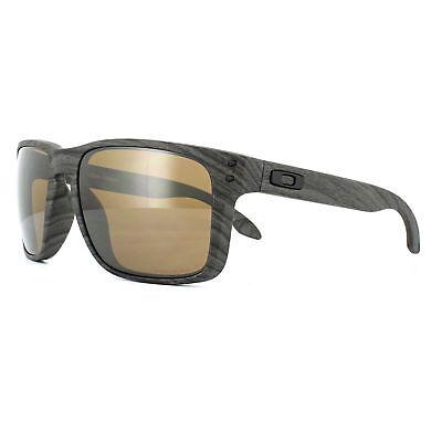 Oakley Sonnenbrille Holbrook XL OO9417-06 Woodgrain Prisma Wolfram Polarisierend