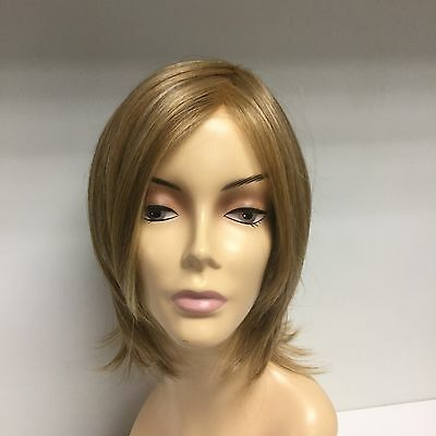 Christie Brinkley PIN UP Mid Lace Front Bob Wig, 14/25 Dark Golden - Pin Up Wig