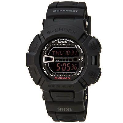 Casio G9000MS-1 Men's G-Shock Black Resin Digital Chronograph Dial Watch