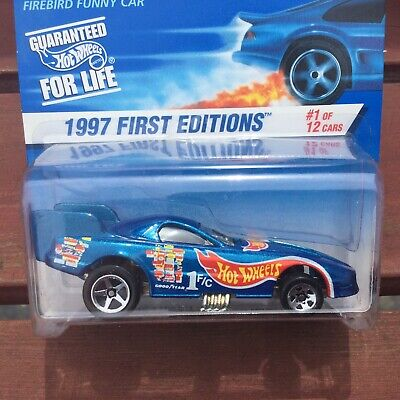 HOT WHEELS 1997 First Editions FIREBIRD FUNNY CAR #509 ~ FREE SHIPPING