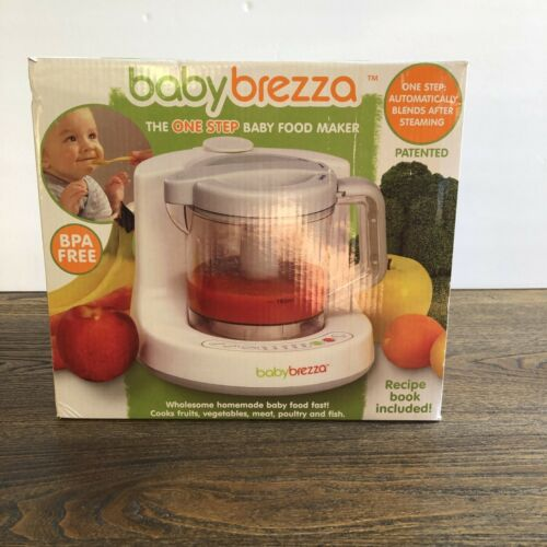 Baby Brezza One Step Baby Food Maker BPA Free New Open Box