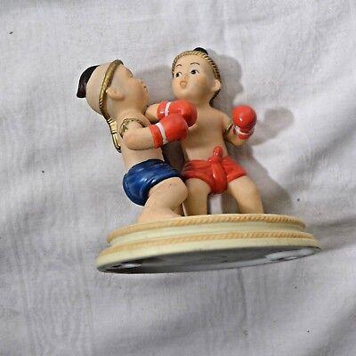 aus Thailand Kickboxer ,Porzellan von Suncera