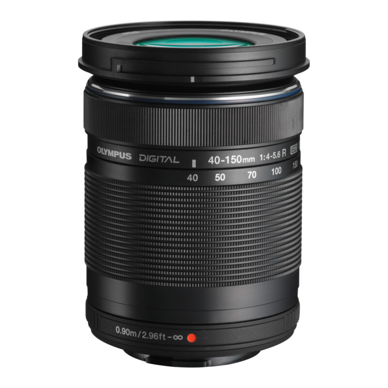 Olympus M.Zuiko Digital ED 40-150mm f/4.0-5.6 R Telephoto Zoom Lens for Most Micro Four Thirds Cameras Black V315030BU000