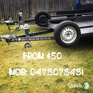 $$ CAR TRAILER FOR HIRE $$