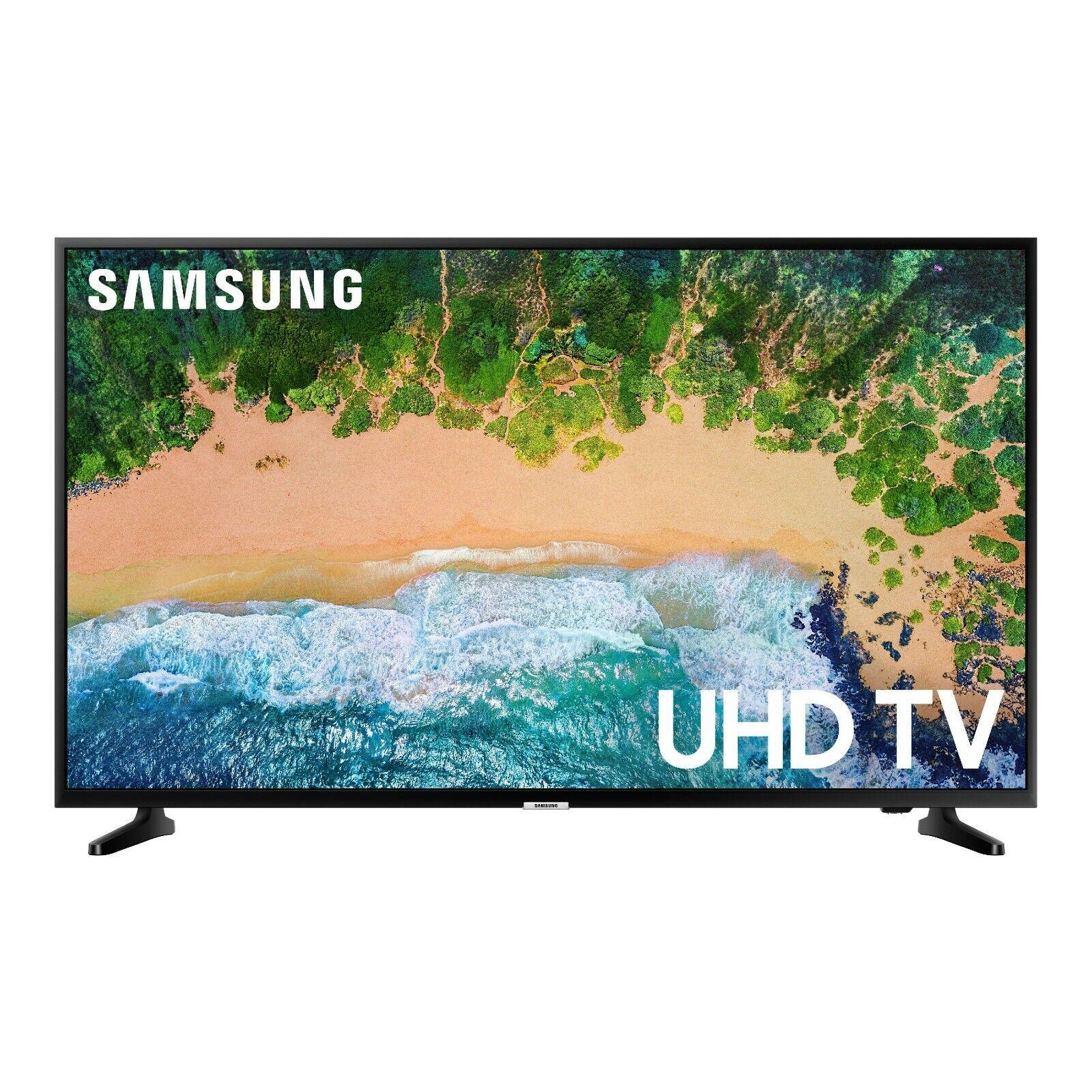 Samsung 50 inch 4K Smart LED HDR TV - Glossy Black Brand New