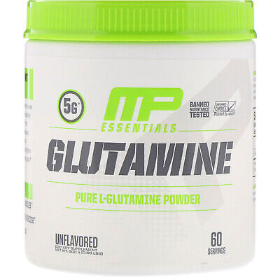 Glutamine Essentials, Unflavored, 0.66 lb