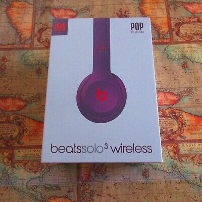 🍎~Beats by Dr. Dre Solo3 Wireless Headphones POP Magenta