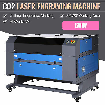 60w Co2 Laser Engraver Cutter Cutting Engraving Marking Machine 28 20 Ruida