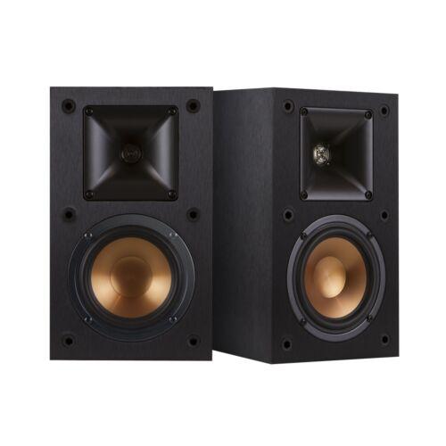 "Klipsch Reference 5-1/4"" Bookshelf Speakers (Pair) Black R-15M"