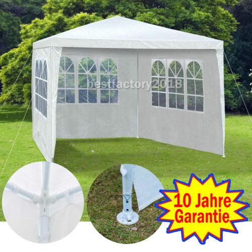 Weiß Blau Grün Pavillon Pavillion Gartenzelt Partyzelt WASSERDICHT 3X3m 3X4m DE