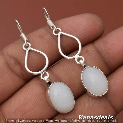 Thanksgiving Gift 6 Gm Opal 925 Sterling Silver Plated Earring ER-28309