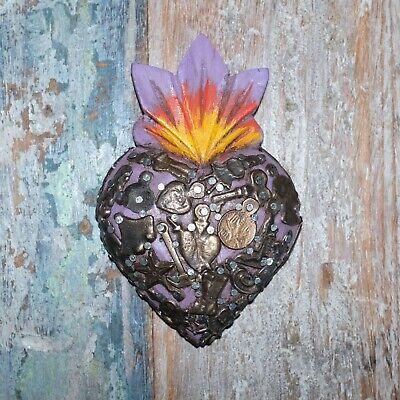 Mexican Milagro Heart Decoration Mini E