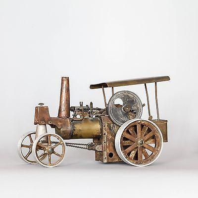 Lokomobil+Dampfmaschine+Dampftraktor-Spielzeug-Wilesco-Steam Engine Toy