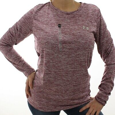 Under Armour Women's Purple Long Sleeve Athletic Shirt | Size S | NWT