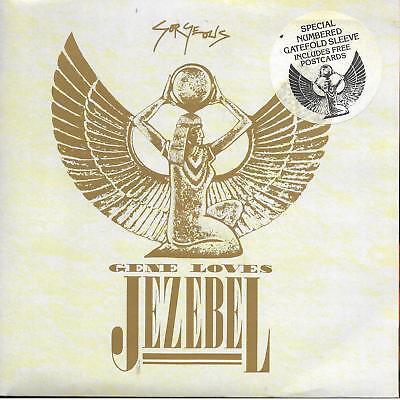 "Gene Loves Jezebel Gorgeous Limited Ed # 1934 + postcards UK 45 7"" sgl"