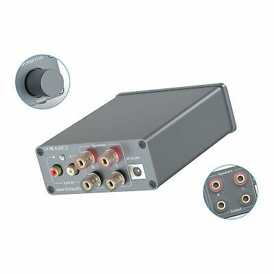 2 Channel Stereo Audio Class D Amplifier Mini Hi-Fi Professi