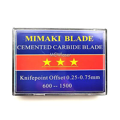 15pcs 60 Hq Mimaki Blades For Vinyl Cutter Cutting Plotter On Sale
