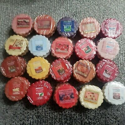 Yankee Candle Tarts. Lot of 50 Cherries on Snow Cotton Candy Seasons Blessings