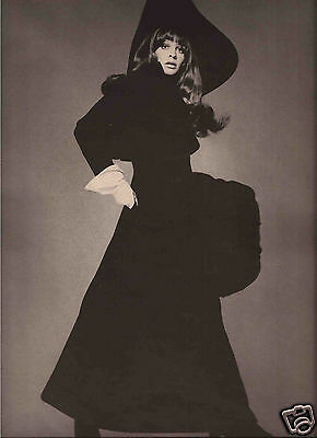 60's Avedon Photographed 4-Page Fashion  Editorial  - Julie Christie 1968