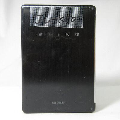 SHARP HEADPHONE STEREO PLAYER JC-K50(BK) VINTAGE RARE WORKING 180510