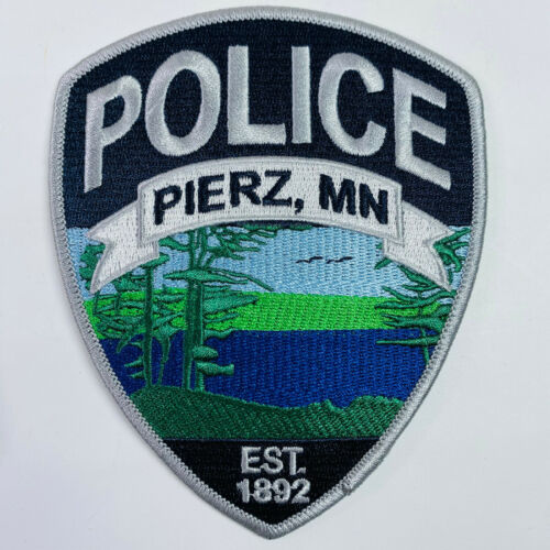 Pierz Police Morrison County Minnesota MN Patch (A1)