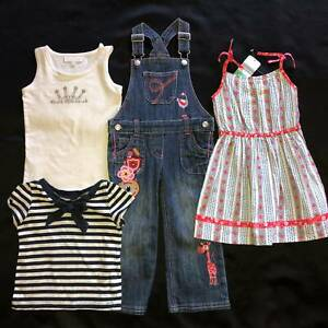 Girl's size 2 summer clothing bundle. Collette Dinnigan, Pumpkin Patch