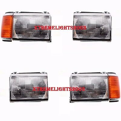 MONACO DYNASTY 1997 1998 1999 HEADLIGHTS HEAD LIGHTS FRONT SIGNAL LAMPS SET RV