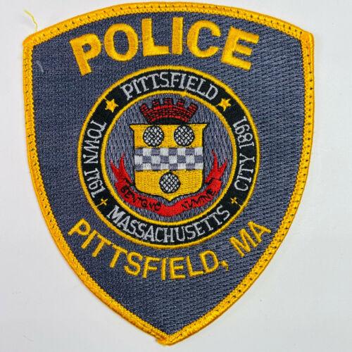 Pittsfield Police Berkshire County Massachusetts MA Patch A3J