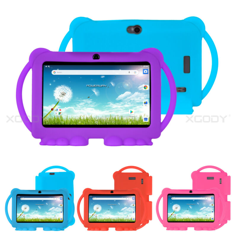 XGODY Quad Core Android 8.1 Tablet PC 7 inch HD WiFi 16GB for Kids Children Gift