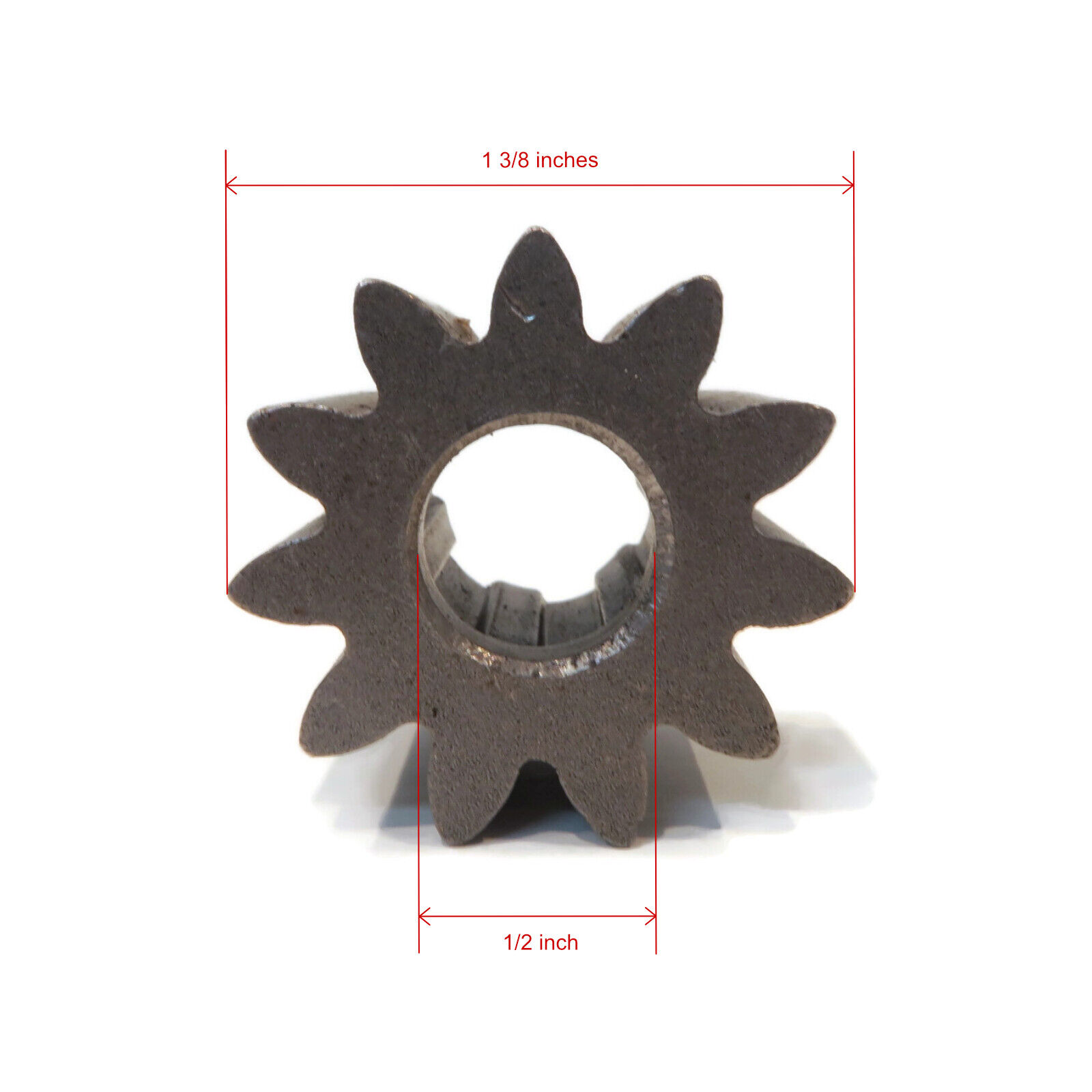 """Steering Pinion Gear for John Deere LA165 Lawn Tractor with 48/"""" Deck PC9746"""