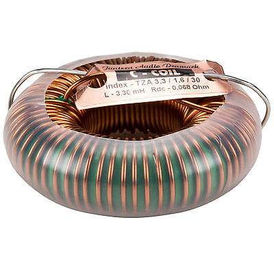 Jantzen 6125 3.3mh 14 Awg C-coil Toroidal Inductor
