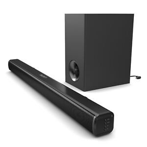 Majority TV 140 Watt Sound Bar Subwoofer with Bluetooth Optical Audio